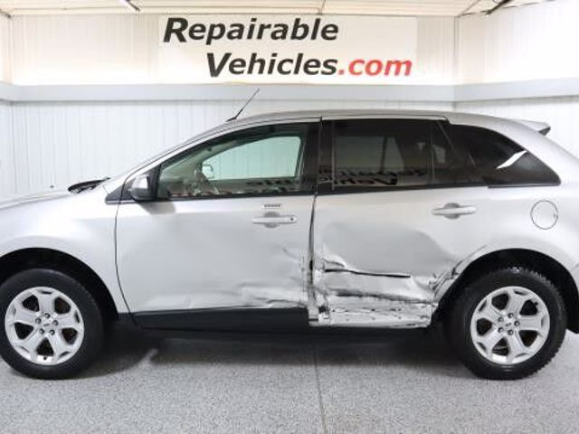2013 Ford Edge SEL, Ingot Silver Metallic (Silver), All Wheel