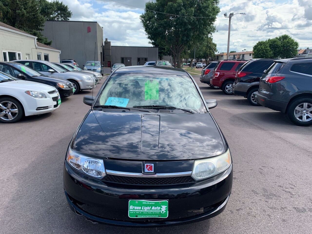2003 Saturn Ion 3 | Sioux Falls, SD, Black (Black), Front Wheel