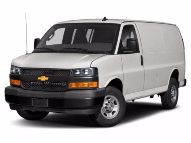 2020 Chevrolet Express Cargo 2500, Summit White (White), Rear Wheel