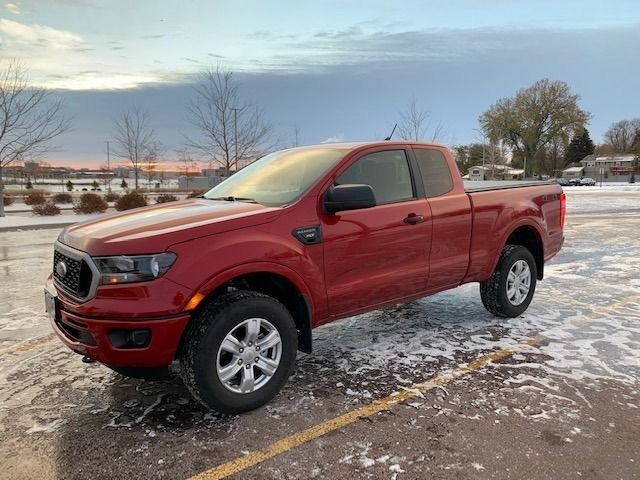 2020 Ford Ranger XLT, Race Red (Red & Orange), 4X4